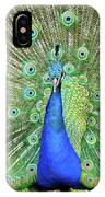 Royal Peacock IPhone Case