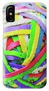 Rubberband Ball I IPhone Case