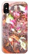 Rubbish Turns Into Compost IPhone Case