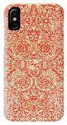 Rubino Red Floral IPhone Case