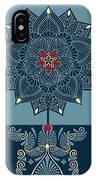 Rubino Zen Flower IPhone Case