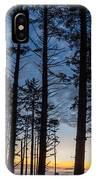 Ruby Beach Through The Trees IPhone Case