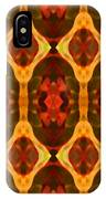 Ruby Glow Pattern IPhone Case