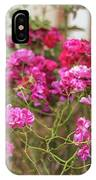 Ruby Like Flora IPhone Case