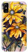 Rudbeckia  Prairie Sun IPhone Case