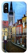 Rue Lamonnoye In Dijon France IPhone Case
