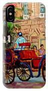Rue Notre Dame Montreal IPhone Case