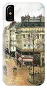 Rue Saint Honore IPhone Case