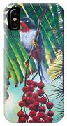 Rufous-throated Solitaire IPhone Case