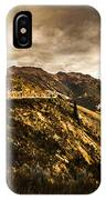 Rugged And Intense Mountain Background IPhone Case