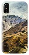 Rugged Mountains Of North India IPhone Case