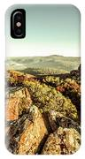 Rugged Mountaintops To Regional Valleys IPhone Case
