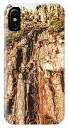 Rugged Vertical Cliff Face IPhone Case
