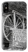 Ruidoso Waterwheel IPhone Case
