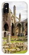Ruins. Melrose Abbey. IPhone Case