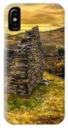 Ruins Of Snowdonia Panorama IPhone Case