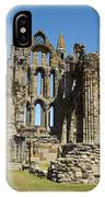 Ruins Of Whitby Abbey IPhone Case