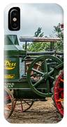 Rumley Oil Pull Tractor IPhone Case