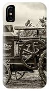 Rumley Oil Pull Vintage IPhone Case