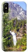 Running Eagle Falls Glacier National Park IPhone Case