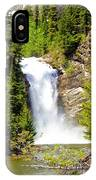 Running Eagle Falls IPhone Case
