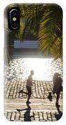 Running In The Light IPhone Case