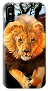 Running Lion IPhone Case