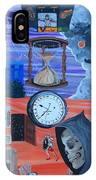 Running Out Of Time IPhone Case