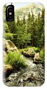 Running River IPhone Case