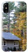 Rural Colorful Autumn Landscape 3 IPhone Case