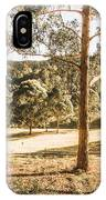 Rural Paddock In Australian Countryside IPhone Case