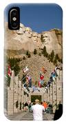 Rushmore State Flags IPhone Case