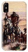 Russell Charles Marion Indians On Plains IPhone Case