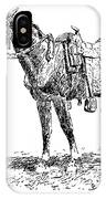 Russell: Rawlins Horse IPhone Case