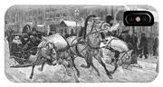 Russia: Troika, 1888 IPhone Case