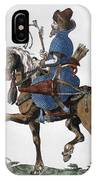 Russian Horseman, C1577 IPhone Case