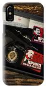 Russian Kgb  IPhone Case