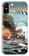 Russo-japanese War, 1904 IPhone Case