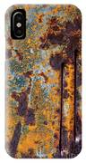 Rust Abstract Car Part IPhone Case