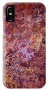 Rust Autumn IPhone Case