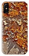 Rust On A Pipe IPhone Case