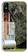 Rusted Tin Shed In Burnt Corn IPhone Case