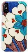 Rustem Pasha Mosque Flower Tile IPhone Case