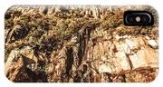 Rustic Cliff Spring IPhone Case