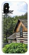 Rustic Farmhouse At Old World Wisconsin IPhone Case