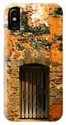 Rustic Fort Door IPhone Case