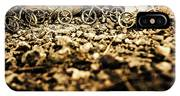 Rustic Mountain Bikes IPhone Case