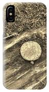 Rustic Nail IPhone Case