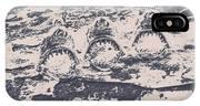 Rustic Nautical Artwork IPhone Case