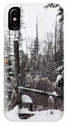 Rustic Property Marker IPhone Case